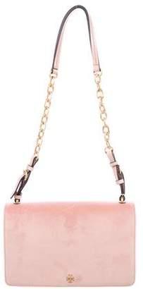 Tory Burch Sadie Velvet Shoulder Bag