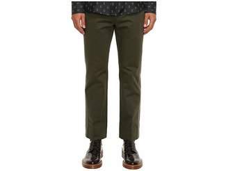 Marc Jacobs Cotton Sateen Trousers Men's Casual Pants