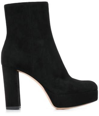 Gianvito Rossi chunky heel boots