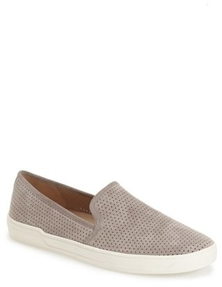 Women's Via Spiga 'Galea' Leather Slip-On Sneaker $175 thestylecure.com
