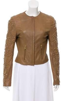 Givenchy Embellished Leather Jacket