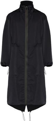 Bottega Veneta long parka coat