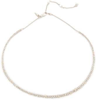 Alexis Bittar Encrusted Spike Choker Necklace $225 thestylecure.com