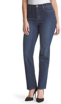 Gloria Vanderbilt Women's Amanda Classic High Waisted Tapered Jeans