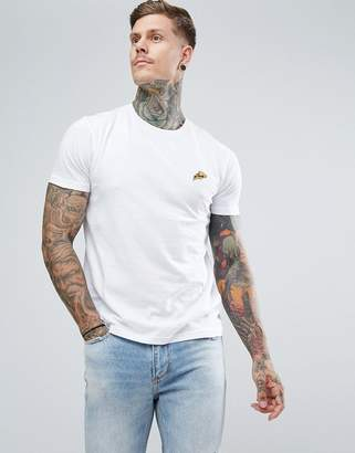 Brave Soul T-Shirt With Embroidered Pizza Logo