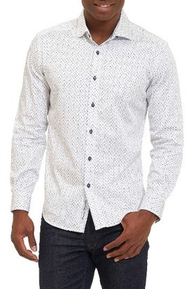 Men's Robert Graham Clay Tailored Fit Sport Shirt $168 thestylecure.com