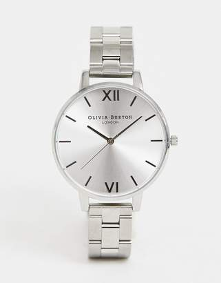 Olivia Burton OB15BL22 Sunray bracelet watch in silver