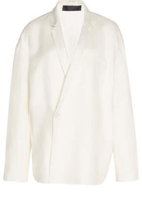 Haider Ackermann Relax Fit Linen-Blend Pajama Blazer