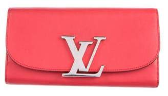 Louis Vuitton Veau Racine Vivienne Long Wallet