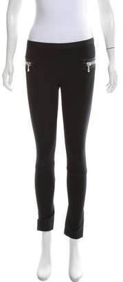 Les Chiffoniers Elasticized Low-Rise Leggings