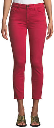 7 For All Mankind Jen7 by Mid-Rise Skinny Twill Pants