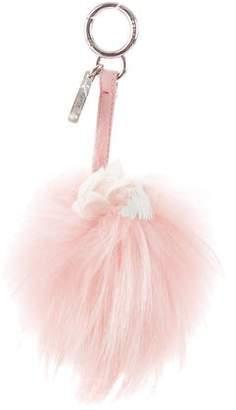 Fendi Flower Pom-Pom Bag Charm