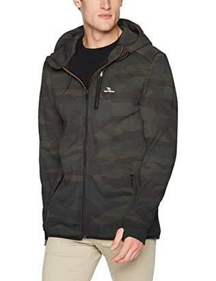 Rip Curl Men's Departed Anti Series Technical Zip Up Hooded Sweatshirt