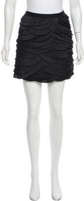 Diane von Furstenberg Paulita Ruffled Mini Skirt