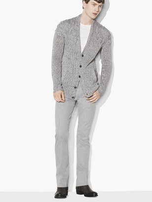 Disappearing Cable Cardigan $598 thestylecure.com