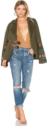 Tularosa x REVOLVE Claude Jacket in Army $178 thestylecure.com