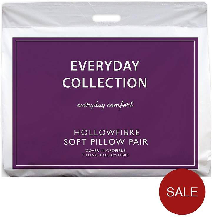 Everyday Collection Soft Support Pillow Pair