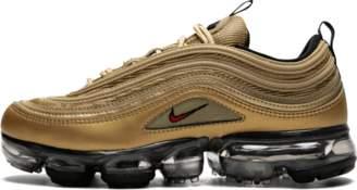 Nike Vapormax '97 (GS) Metallic Gold/Varsity Red