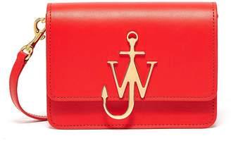 J.W.Anderson 'Logo' plate mini crossbody bag