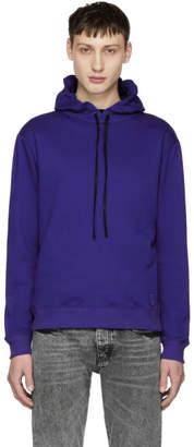 Saint Laurent Blue Contrast Hoodie