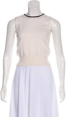 Chanel Sleeveless Cashmere Top w/ Tags