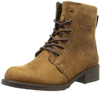 Clarks Women's Orinoco Spice Ankle Boots, (Brown WLined Leather)