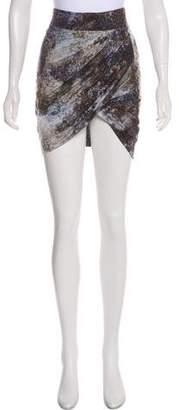 Helmut Lang Pencil Mini Skirt