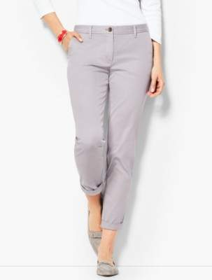 Talbots Garment Dye Girlfriend Chino