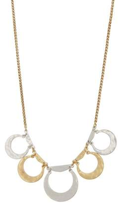 Lucky Brand Two-Tone Collar Necklace