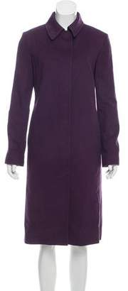 TSE Collared Long Coat