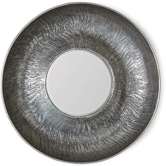 Global Views Sun-Etched Wall Mirror - Antiqued Nickel