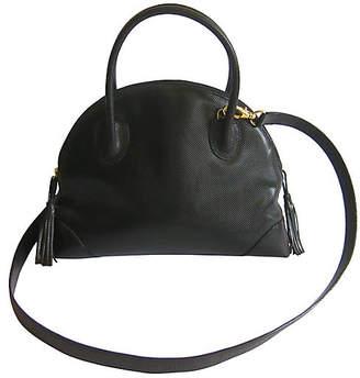 One Kings Lane Vintage Bottega Veneta Leather Cross-Body Bag - The Emporium Ltd.