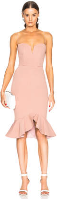 Nicholas Flip Hem Bra Bandage Dress
