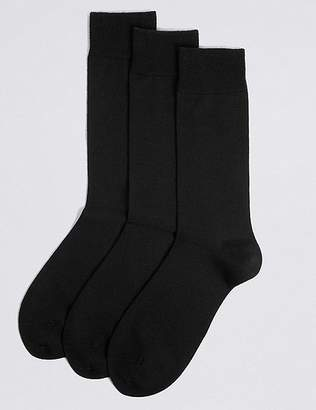 Marks and Spencer 3 Pack Merino Wool Rich Socks