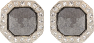Todd Reed Fancy Cut Diamond Stud Earrings