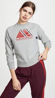 MAISON KITSUNÉ Triangle Sweatshirt
