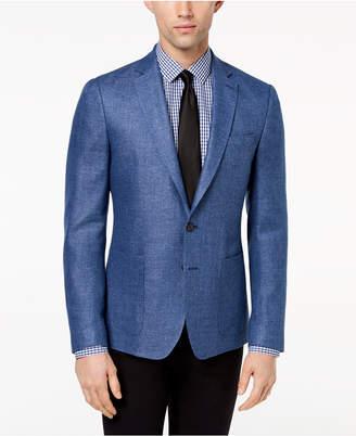 DKNY Men's Modern-Fit Neat Sport Coat