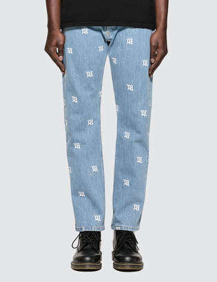 Misbhv Monogram Denim Pants