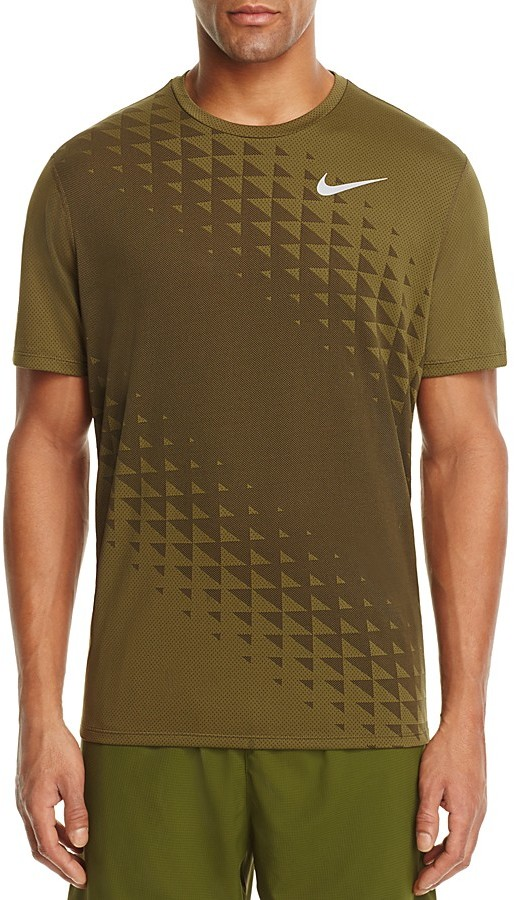 Nike Relay Triangle Print Training Tee