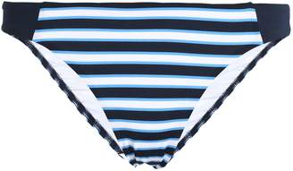 Jets Profile Striped Low-rise Bikini Briefs