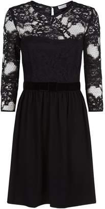 Claudie Pierlot Lace Insert Dress