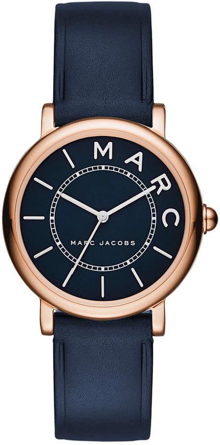 Marc By Marc JacobsMarc by Marc Jacobs Women's Roxy Navy Leather Strap Watch 28mm MJ1539