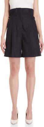 Jil Sander Evan High-Waisted Shorts