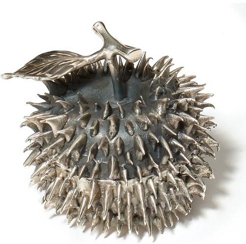 D. L. & Co. Silver Thorn Apple Votive