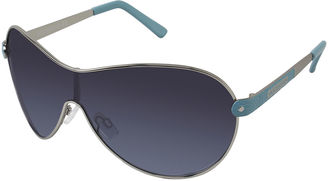 ROCAWEAR Southpole Oval Shield Sunglasses $28 thestylecure.com