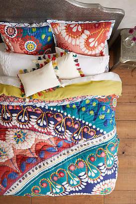 Anthropologie Artisan Quilts by Tahla Quilt