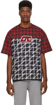 Opening Ceremony Multicolor Plaid T-Shirt