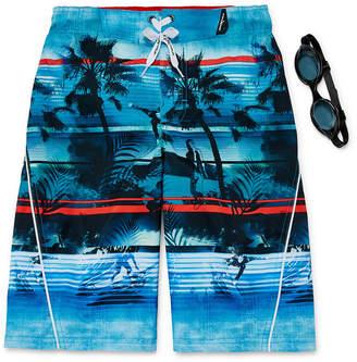 ZeroXposur Palm Beach Swim Trunks - Boys 8-20