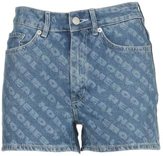 Wood Wood Denim Short Fake