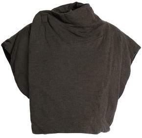 Rick Owens Lilies Draped Jersey Vest